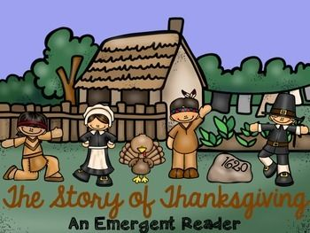 This is a great emergent reader for any early elementary classroom.  It tells the story of Thanksgiving in a very kid friendly way!  ♥ If you like this book, you'll LOVE these: A Bundle of 41 Emergent Readers!   You might also like:   November Bundle
