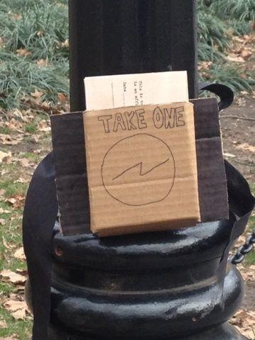 Take One. #TheWanderSociety