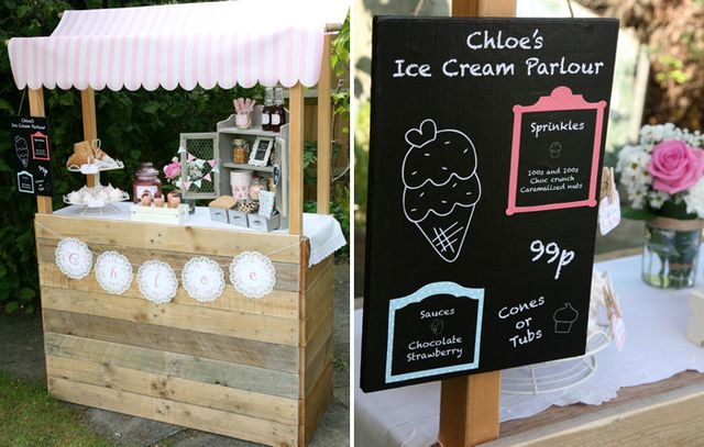 I need to repurpose my bridal fair display into this ice cream stand for mini-sessions!