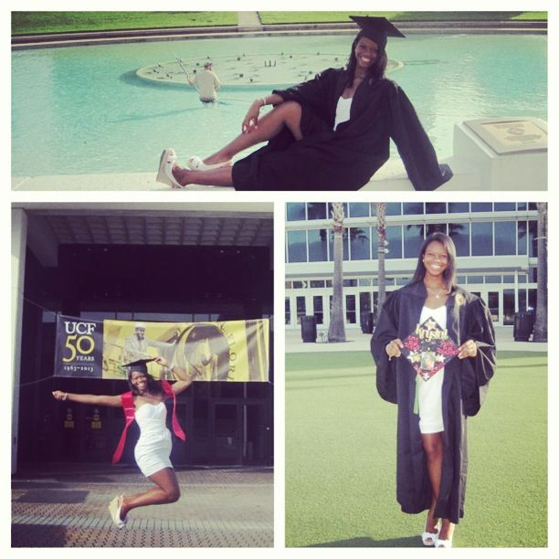 UCF graduation! Bachelors degree. Health services ...