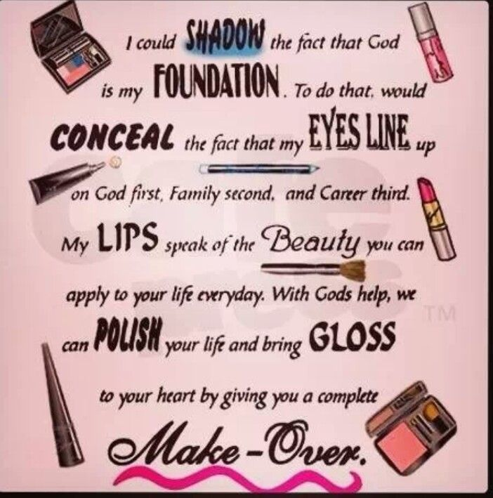 You've got to just love a business that puts God first!! www.marykay.com/tberry0328