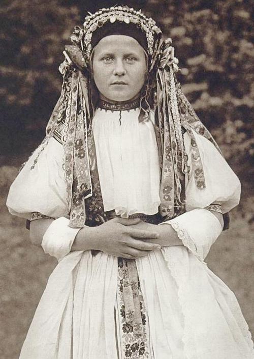 Slovakian bride.