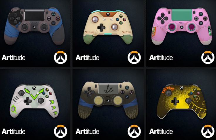 24 Overwatch-Themed PS4/Xbox One Controllers Revealed But Theyre Not For Sale