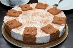 Die Spekulatius-Torte wird nicht gebacken. Dieses Rezept ist ein herbst-winterliches muss für alle Spekulatius-Fans.