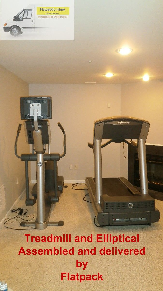 Lifestyle Elliptical Assembled By Flatpack Elliptical Trainer Assembly  Service In Washington DC Best Furniture Assembly Services