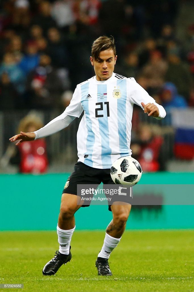 Paulo Dybala of Argentina in action during the international ... 026484c5c7a43