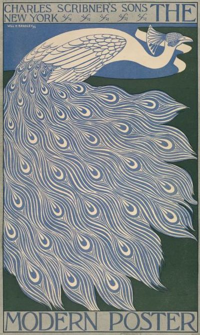 Poster by Will Bradley (1868-1962), 1895, The modern poster.  (American Art Nouveau illustrator) | JV