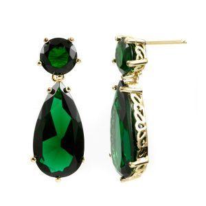 Beautiful emerald green hue