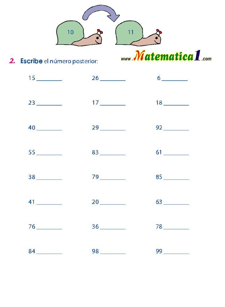 ejercicios para niños de primero de primaria - Buscar con Google