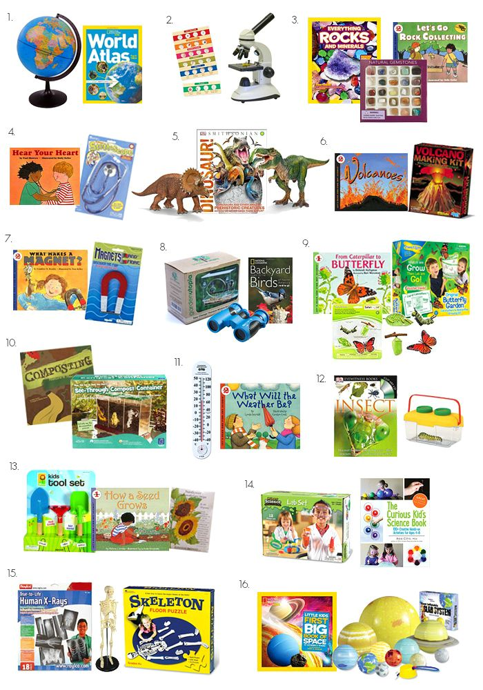 Gift Ideas for Five Year Olds - Science , at How we Montessori