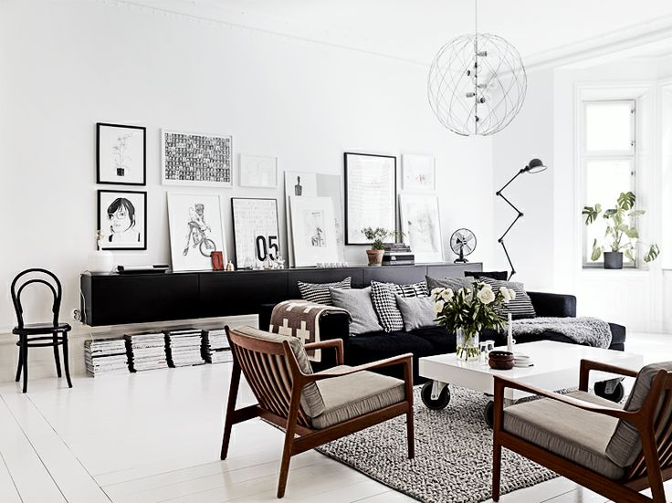 Love the arm chairs and the wall display - would love to do this at home.