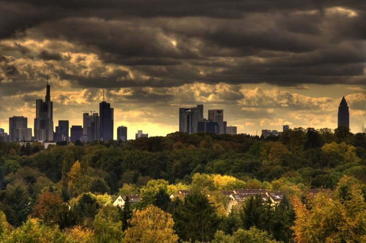 Fall in Frankfurt am Main, Germany