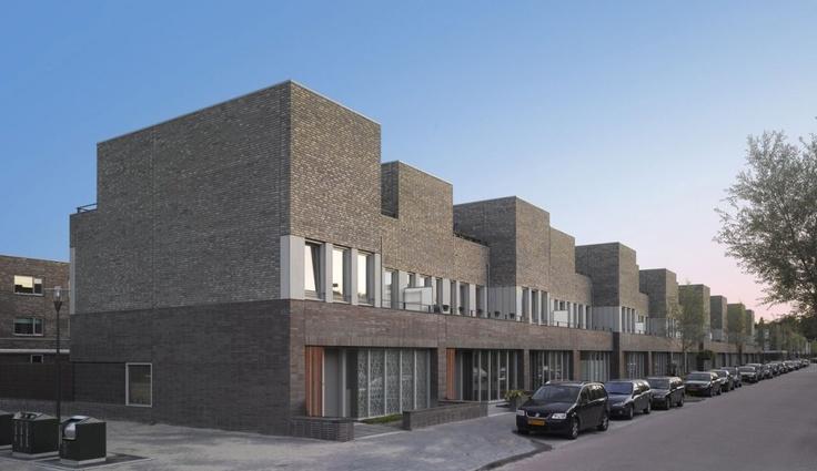 Housing in Leiden, The Netherlands by Snitker / Borst / Architecten /