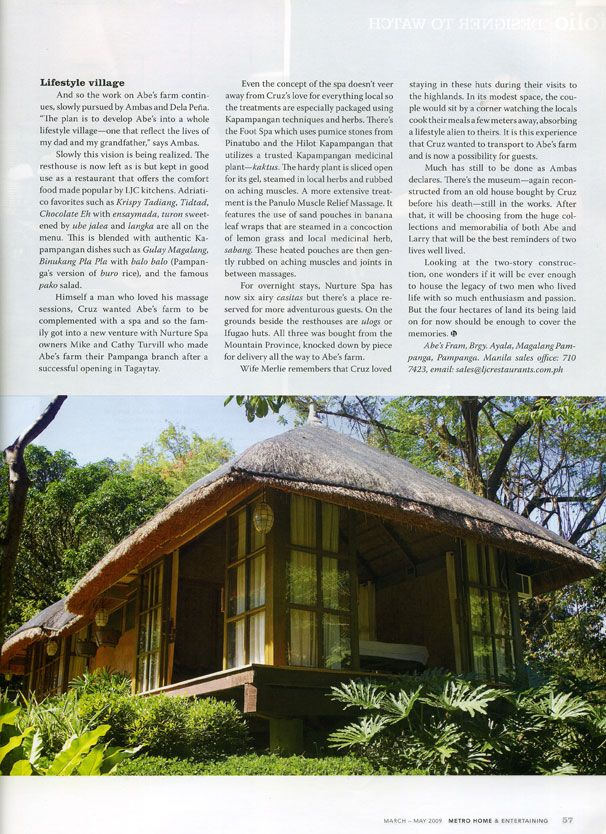 Bahay Kubo in grand style