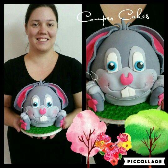 Easter Rabbit Cake Class