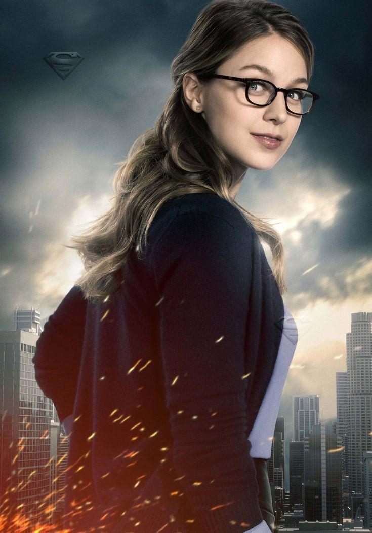 Melissa Benoist as Kara Danvers #Supergirl season 2 poster