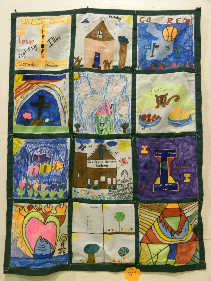 Classroom Paper Quilt Ideas ~ Classroom quilt each student designs one and the teacher