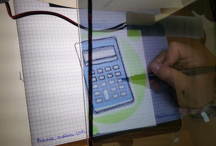 #RentreeScolaire : personnalise ton cahier de math avec QroKee :-)