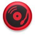 DJ 25mm pin badge £1.00