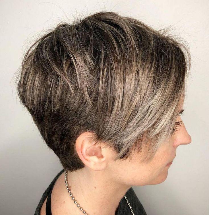 Стрижка ассиметрия с мелированием фото на короткие волосы