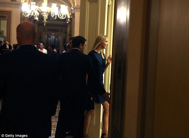 Ivanka is likely to make a pitch for her paid family leave program at the Rubio meeting that's being attended by Sen. Deb Fischer, another sponsor of the paid family leave act Rubio signed onto in the Senate, and at least seven other lawmakers