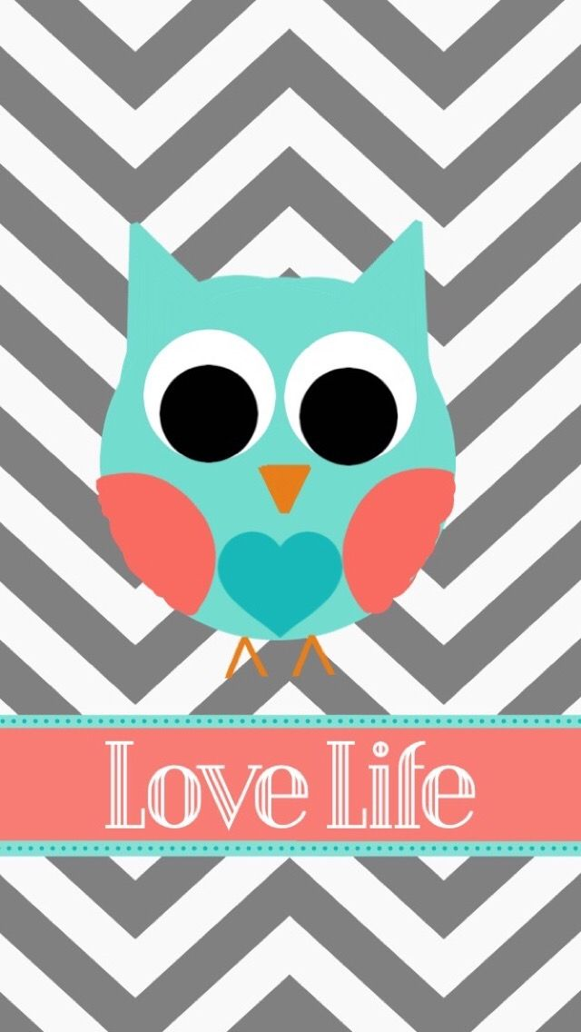 Cute Girly Owl Wallpapers Phone