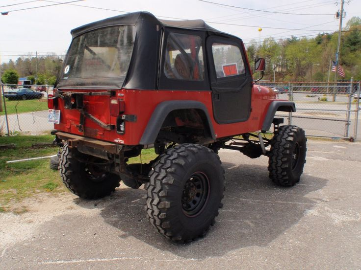 Lifted Jeeps For Sale 1984 Cj7 Jeep Lifted Rockcrawler