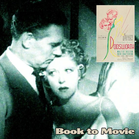 """""""You'll have to stop getting younger someday."""" Dodsworth directed by William Wyler, 1936 - novel written by Sinclair Lewis, 1929. Stars include: , Walter Huston, Ruth Chatterton, Paul Lukas, Mary Astor, David Niven, Gregory Gaye, Maria Ouspenskaya."""