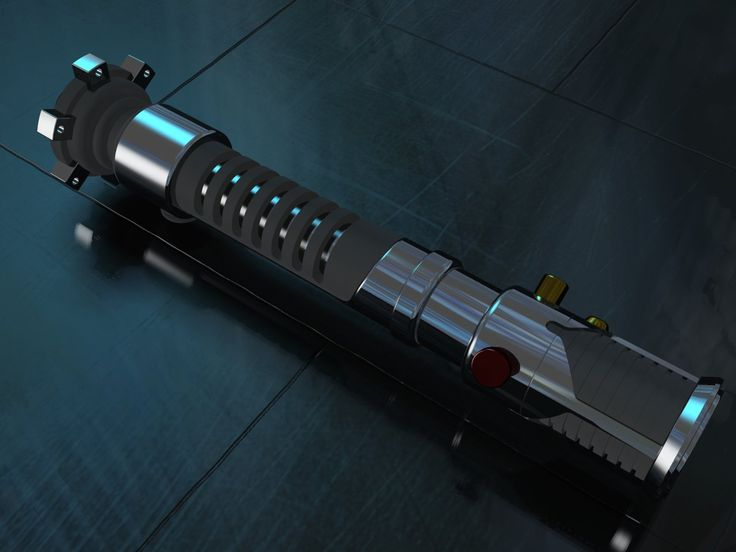 Obi-Wan Kenobi's TPM Lightsaber v.3.0 I improved the realism of the ground (and the metal too, I guess) but I couldn't still figure out the rubber parts. I hid the blade to focus on the h...