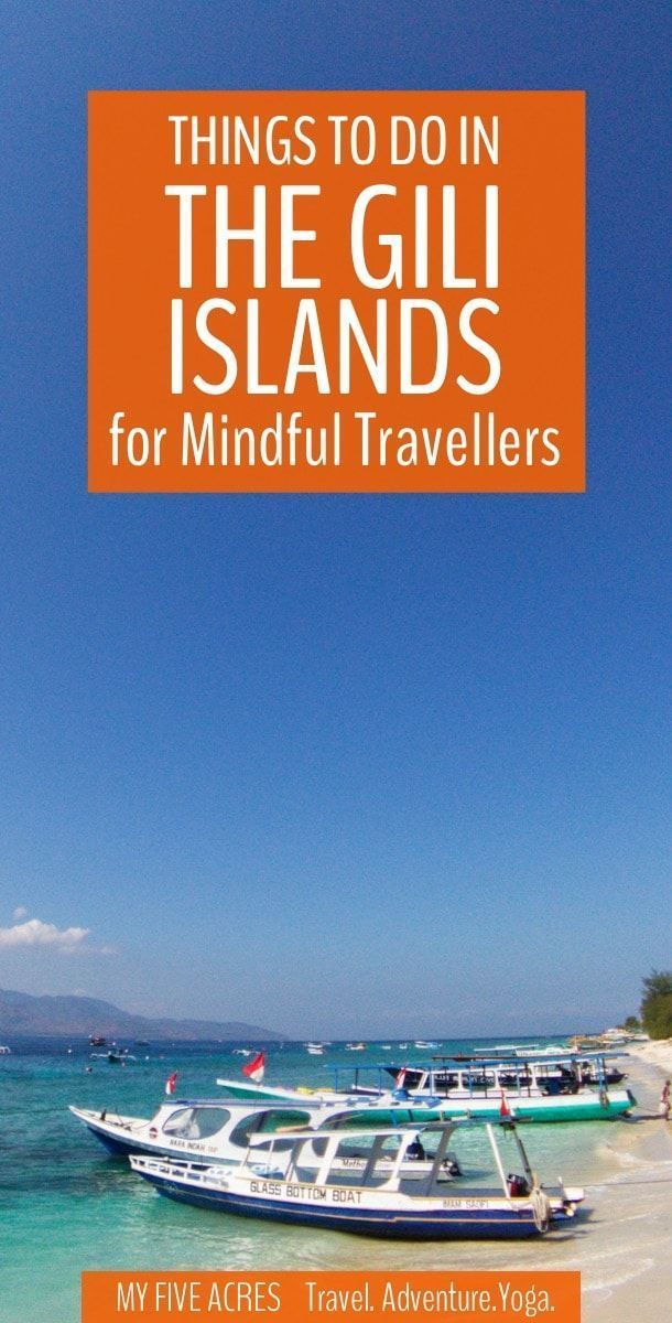 Best Things To Do in the Gili Islands in Indonesia