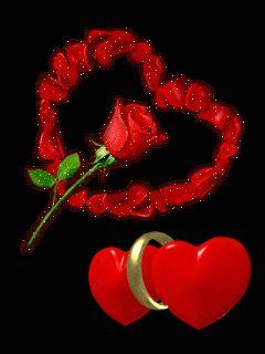 Imágenes Brillantes con Rosas Rojas.