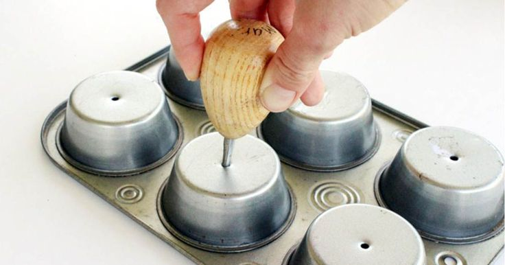 You've probably never thought of using a muffin tin this way. This is brilliant!
