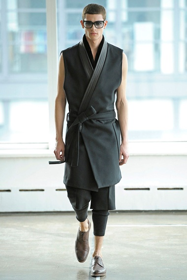 Antonio Azzuolo 2012 Fall/Winter Collection - aka, if Ken/Ryu got dapper.