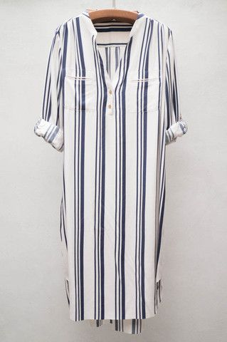 Regatta Stripe Dress by Ulla Johnson  $380