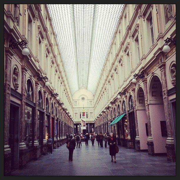 Galeries Royales Saint-Hubert / Koninklijke Sint-Hubertusgalerijen in Brussel, Bruxelles-Capitale