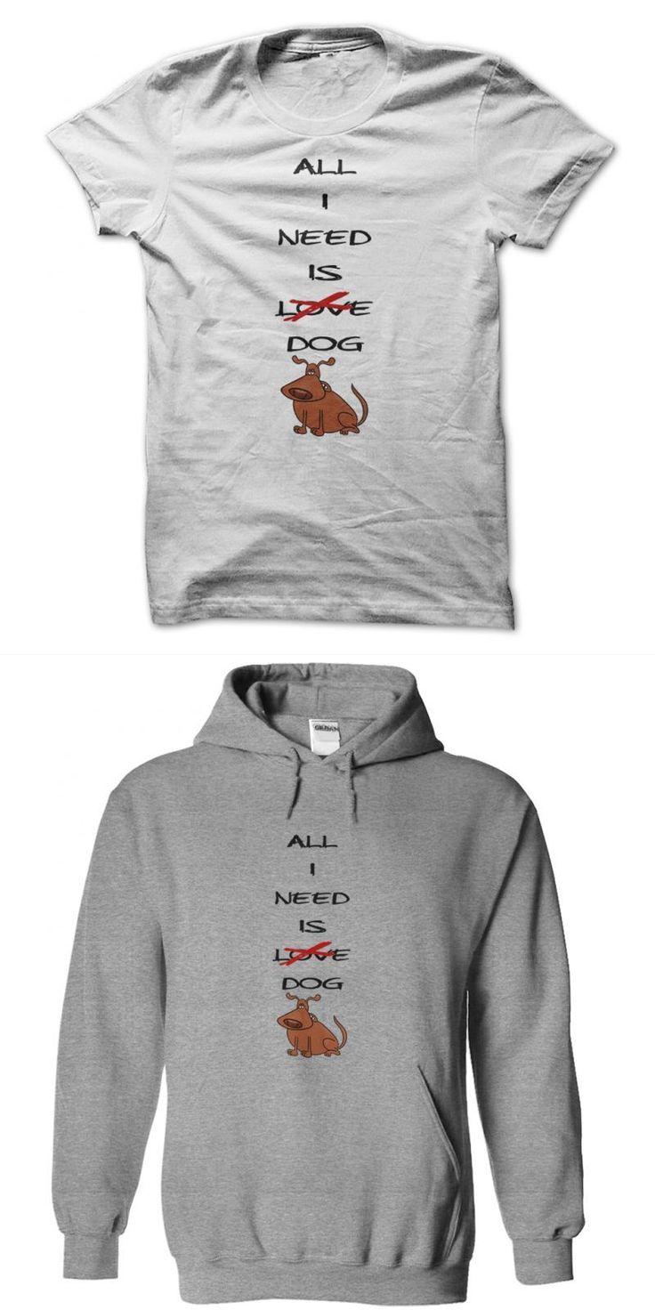 All I Need Is Dog T Shirt Mad Dog Vachon T-shirt #3 #dog #moon #shirt #dog #apparel #vancouver #bc #dog #t #shirt #canada #yellow #dog #t #shirt #hangover #2