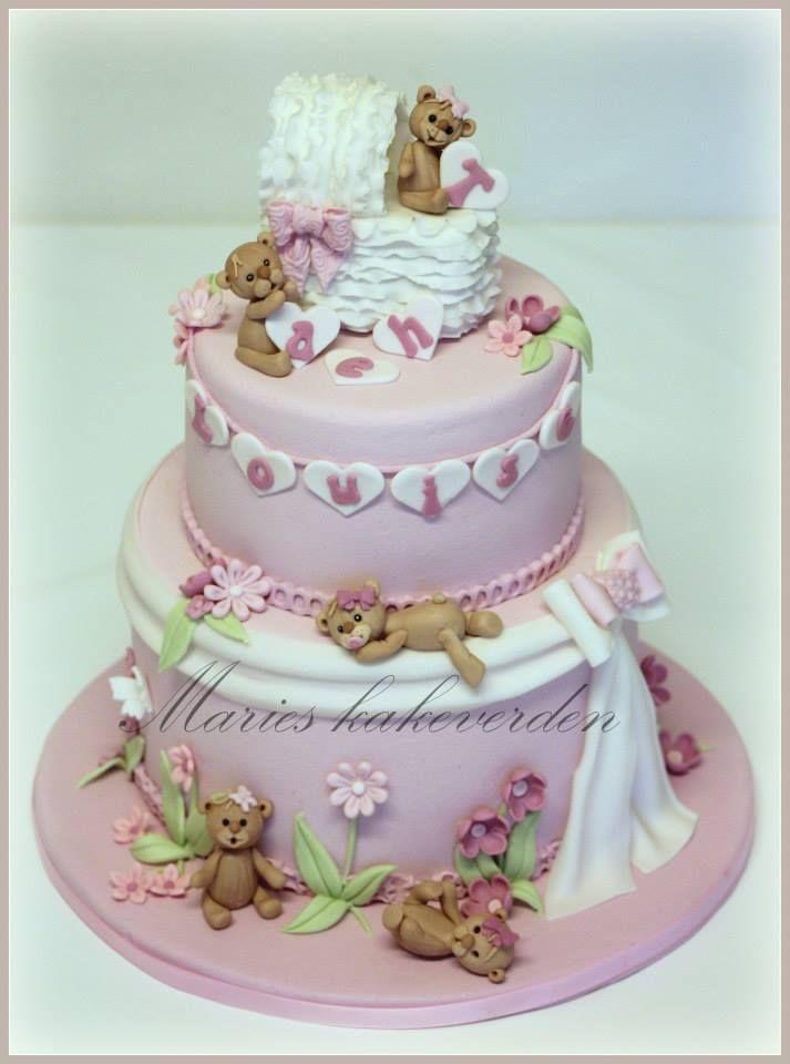 babyshower cake, christening cake, babtism cake, beautiful cake, te cddybearcake,
