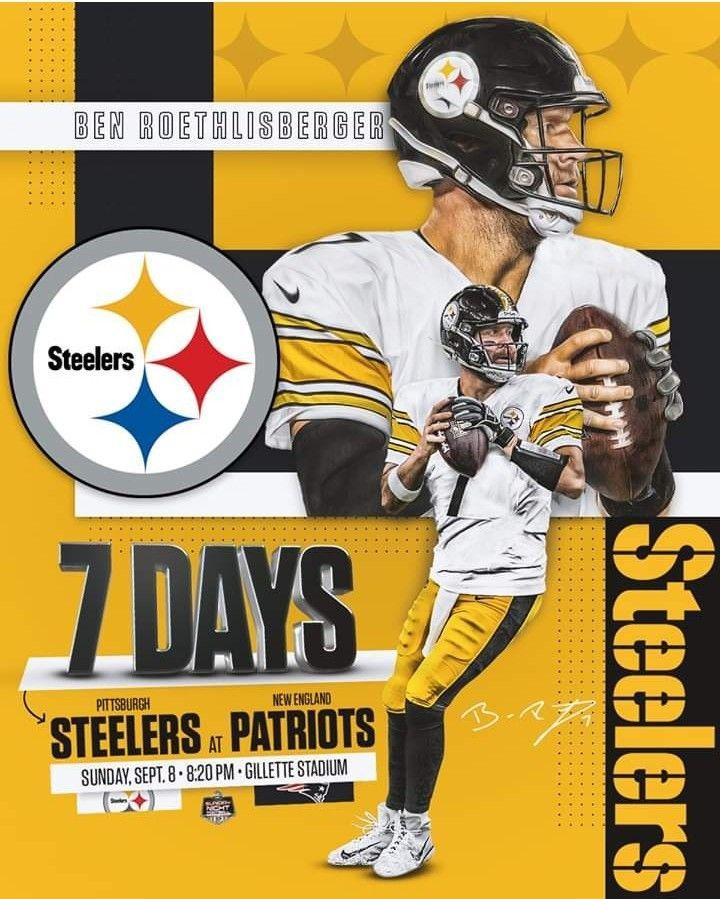 Asi Inician Los Steelers Vs Patriots Que Sea Un Buen Partido Y Que Gane El Mejor Osea Herewegosteelers Football Memes Nfl Pittsburgh Steelers Steelers