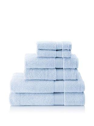 66% OFF Espalma 6-Piece Signature Bath Towel Set (Waterblue)
