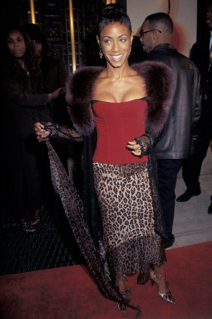 Pin for Later: Retour sur les Looks les Plus Fous des MTV VMAs Jada Pinkett-Smith, 1997