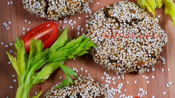 Воздушные котлетки с семенами Чиа и Кинзой. Пошаговый рецепт с фото на Gastronom.ru