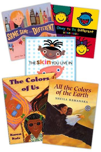 Children's Books for teaching tolerance and acceptance.