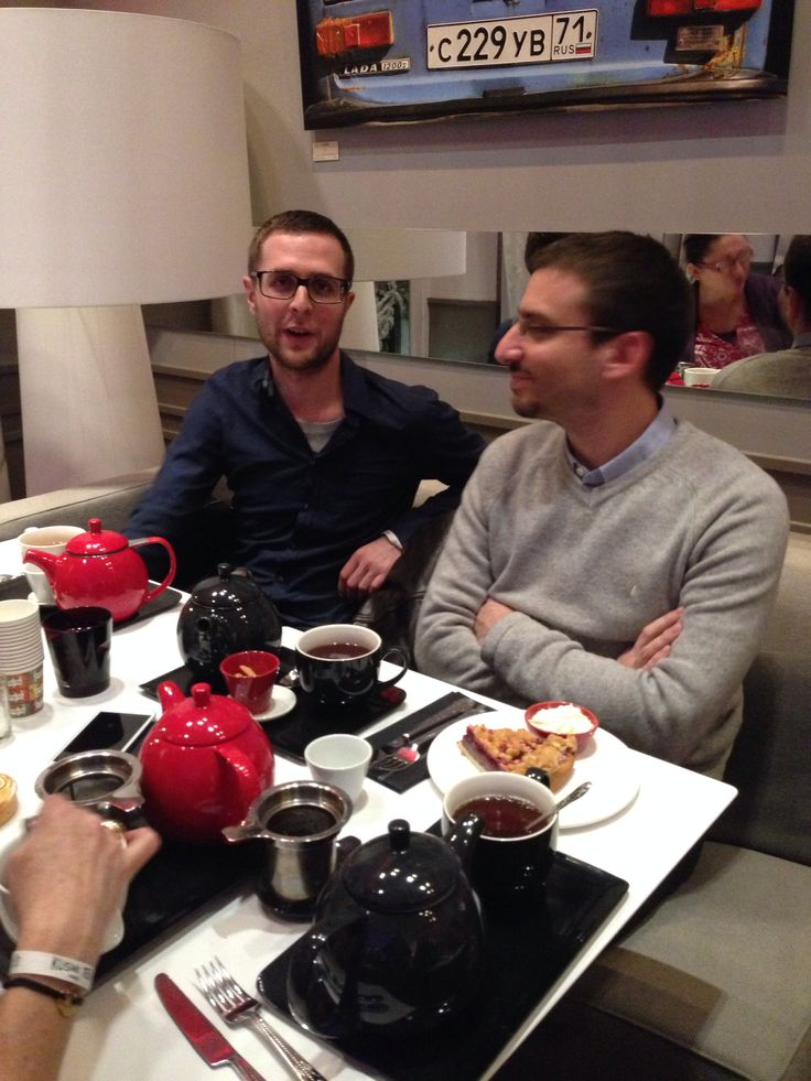 Mes 2 1ers invités ;-) non pas des moindres ;-) Xavier et Sébastien