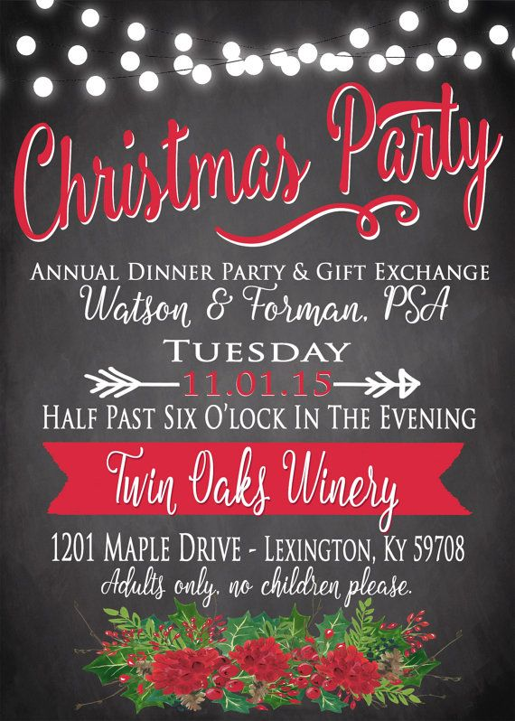 Best 25+ Christmas invitation wording ideas on Pinterest - christmas invitation template