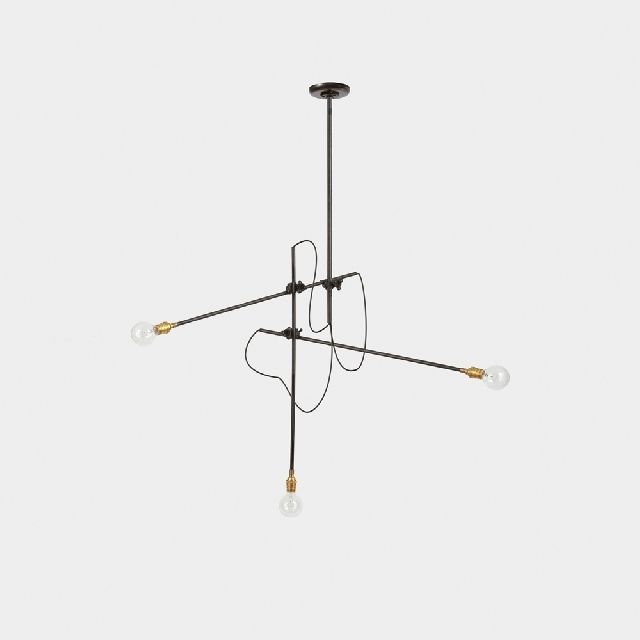 Workstead Industrial Chandelier | Modern Light Fixture