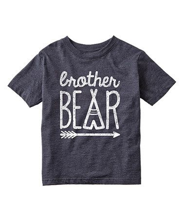 Look at this #zulilyfind! Heather Blue 'Brother Bear' Tee - Toddler & Boys #zulilyfinds