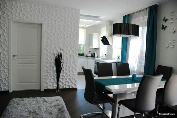 Egy budafoki lakás teljes átalakítása a TimeLessDesign által Kerma 3D falpanelekkel