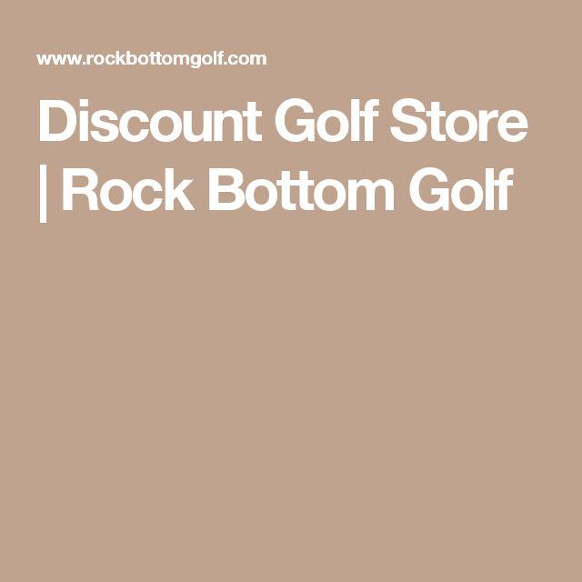 Discount Golf Store   Rock Bottom Golf