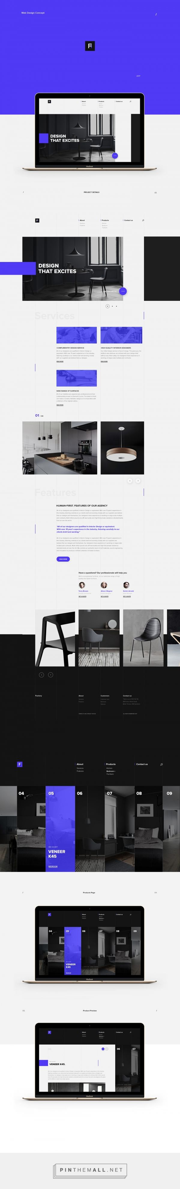 Factory Furniture Web Design by Yaroslava Velichko | Fivestar Branding Agency – Design and Branding Agency & Curated Inspiration Gallery  #furniturewebdesign #website #webdesign