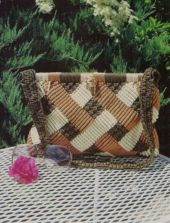 Linda's Family of Macrame Purses Patterns & by KingsKountry